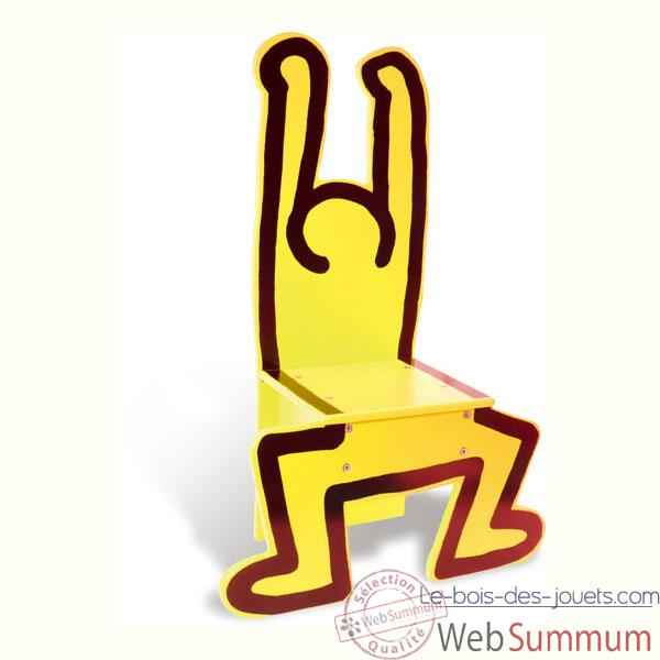 Video Chaise Keith Harin jaune - Vilac 9294