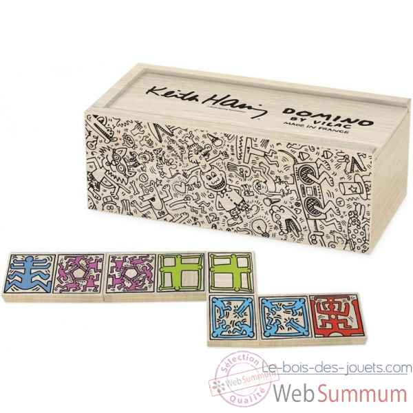 Dominos keith haring vilac -9264