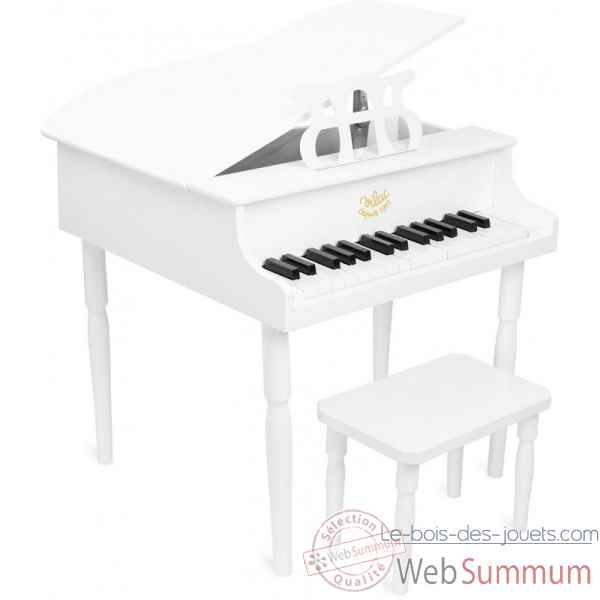 Grand piano a queue blanc vilac -8361
