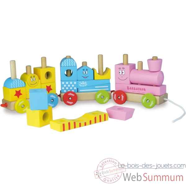 Grand train de cubes barbapapa vilac -5868