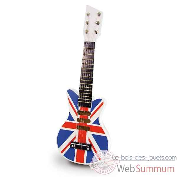 Guitare rock union jack vilac 8329