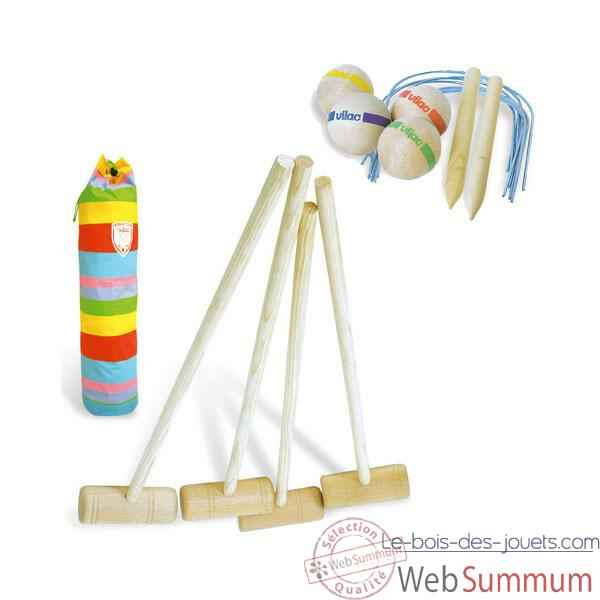 Jeu Croquet junior - Vilac 4084