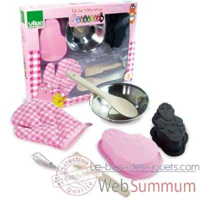 Kit de patisserie barbapapa vilac 5851
