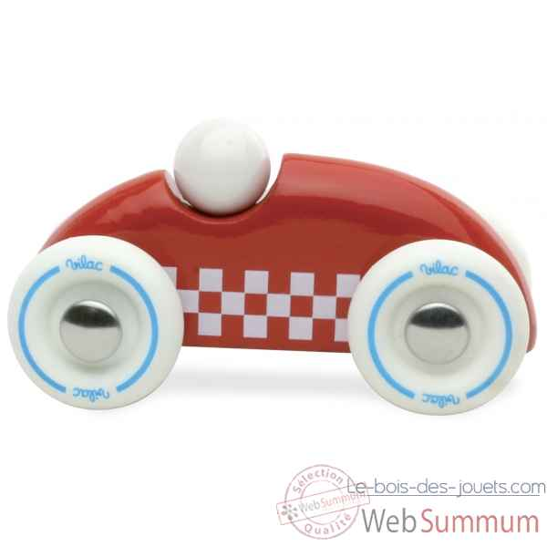 Mini rallye checkers rouge vilac -2282R