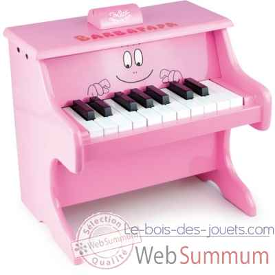 Piano barbapapa avec partitions vilac -5871