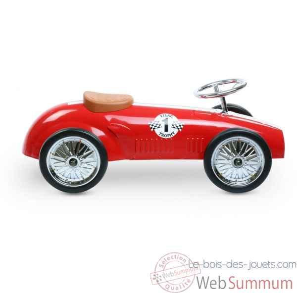 porteur voiture de course rouge vilac 1112 dans jouet vilac sur le bois des jouets. Black Bedroom Furniture Sets. Home Design Ideas