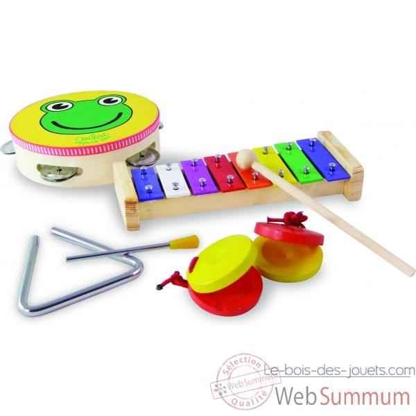 instrument de musique enfant guitare piano xylophone batterie. Black Bedroom Furniture Sets. Home Design Ideas