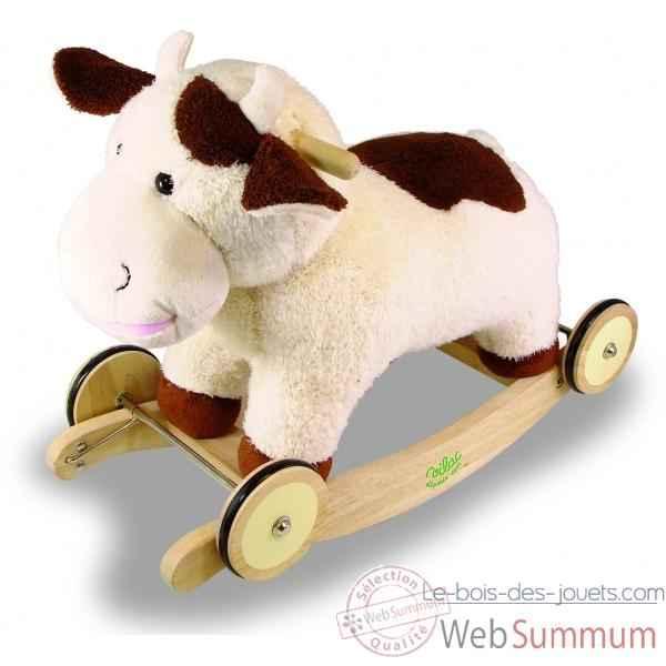 vache bascule jouet vilac 1078 dans tous les jouets sur le bois des jouets. Black Bedroom Furniture Sets. Home Design Ideas