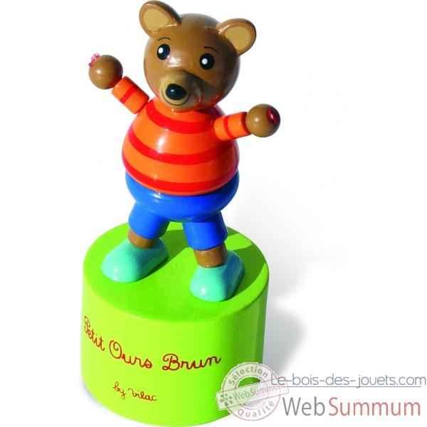 wakouwa petit ours brun jouet vilac 2220 dans jeux d. Black Bedroom Furniture Sets. Home Design Ideas