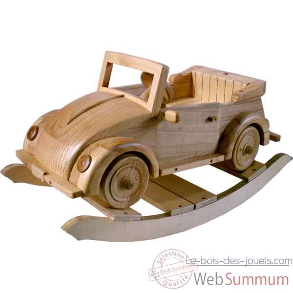 porteur renard baby forest janod j08010 sur le bois des jouets voiture cabriolet bascule en. Black Bedroom Furniture Sets. Home Design Ideas